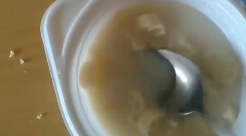 (Видео) В инфекционном отделении больницы в Комрате отстранили персонал кухни за плохую еду