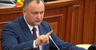 Додон: Если КС аннулирует российский кредит, с 1 мая Молдова не сможет платить зарплаты и пенсии