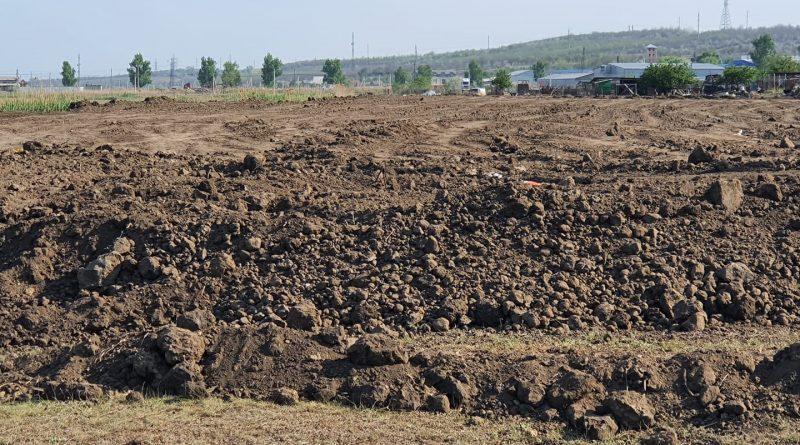 В Комрате завозят чернозем в пойму Ялпуга, для создания нового парка