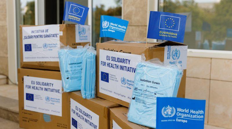 Гагаузия получила гуманитарную помощь от Европейского Союза  для борьбы с COVID-19