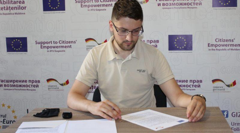Улучшение возможностей для граждан: В Гагаузии 9 организаций подписали контракты на внедрение проектов