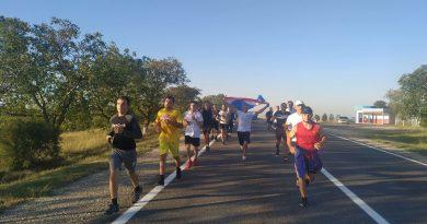 (Фото) В Комрате прошел марафон в честь 30-летия со дня провозглашения гагаузской республики