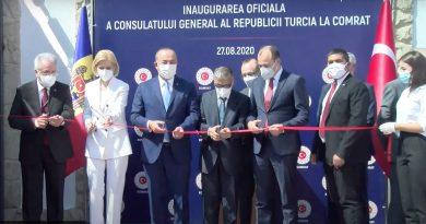 В Комрате торжественно открыли консульство Турции