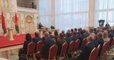 В Беларуси состоялась тайная инаугурация президента