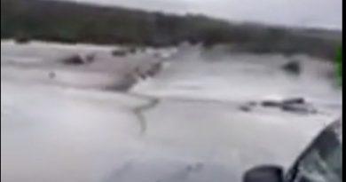 Дорогу Буджак - Дезгинжа затопило. Движение перекрыто
