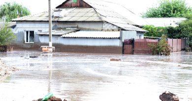 (Фото)Последствия затопления в Комрате