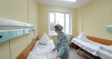 В Республиканской больнице готовят 120 дополнительных коек для тяжелобольных