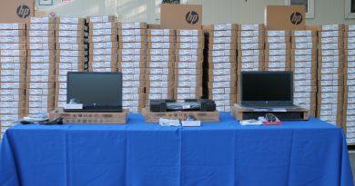 2500 единиц компьютерной техники поступят в учебные заведения страны