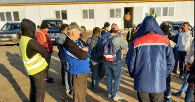 """""""Последний раз получили деньги в июле"""" На юге Молдовы сотрудники международной дорожной компании объявили забастовку"""