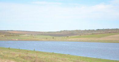 (Видео) В Авдарме после ливневого дождя заполнилось озеро, которое 10 лет было высохшим