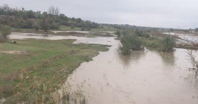 (ВИДЕО) В Чадыр-Лунге после дождей, река вышла из берегов