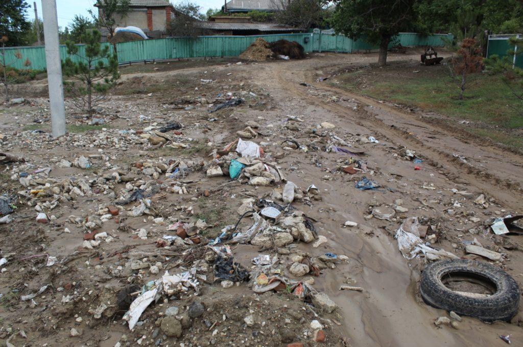 (Фото) В каком состоянии село Чишмикиой после непогоды