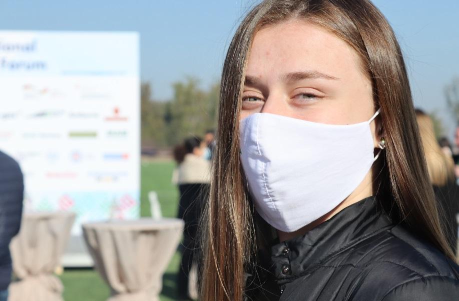 (ФОТО) Инвестфорум в условиях пандемии: как соблюдаются санитарные правила участниками мероприятия