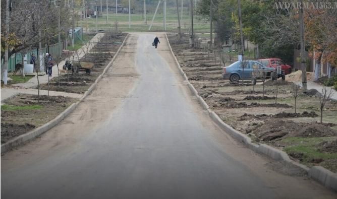 (ВИДЕО) В селе Авдарма завершают реконструкцию участка дороги