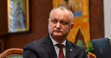Игорь Додон оспорит результаты выборов