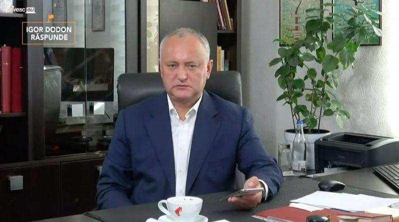 Голоса взамен на амнистию. Как Игорь Додон призывал соотечественников в России к участию во втором туре выборов