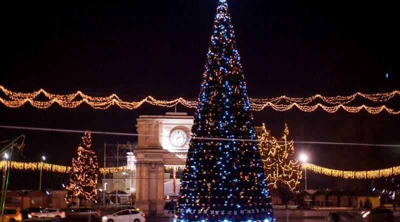 Без елки, концертов и рождественских ярмарок. В Кишиневе в этом году не будет традиционных предновогодних мероприятий