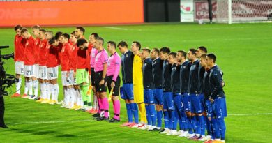Сборная Молдовы сыграла вничью с Россией. Матч прошел без зрителей из - за пандемии