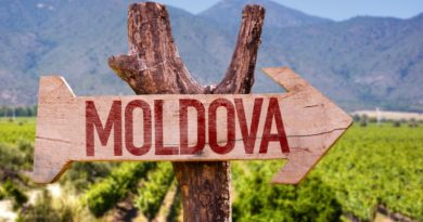 В 2020 году туристический поток в Молдову резко сократился