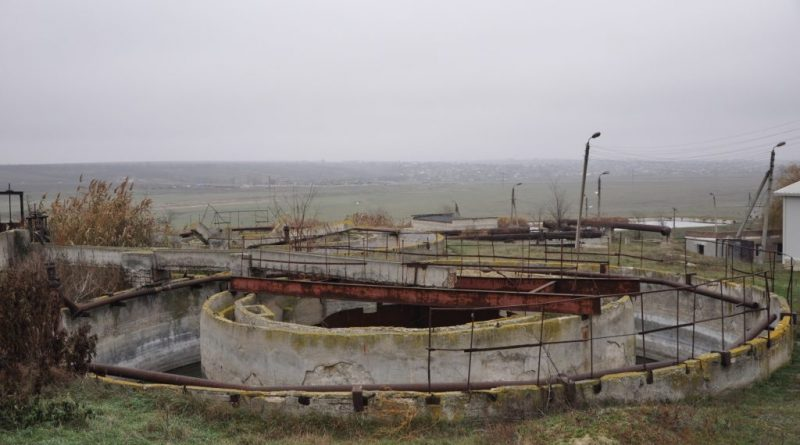 Комрат может получить грант на строительство очистных сооружений, канализационных и водопроводных сетей