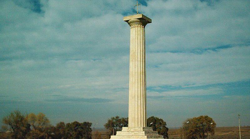 Памятник Кагульской битве в Вулканештах попал в список необычных памятников Молдовы