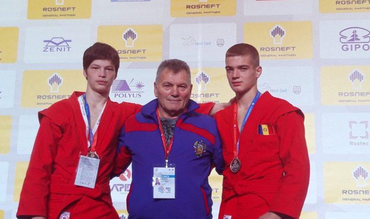Гагаузские самбисты завоевали серебро и бронзу молодежного чемпионата мира в Сербии