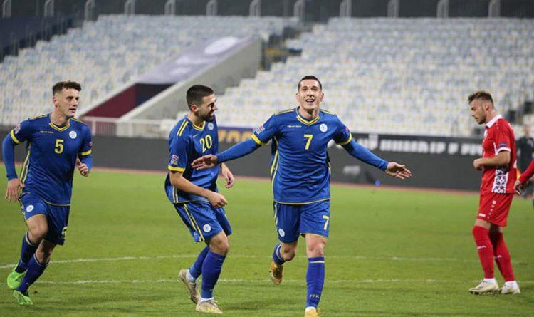 Сборная Молдовы завершает год поражением
