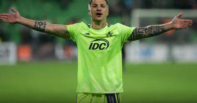Уроженец Вулканешт Вячеслав Посмак - лучший защитник чемпионата Молдовы по футболу по данным Instat