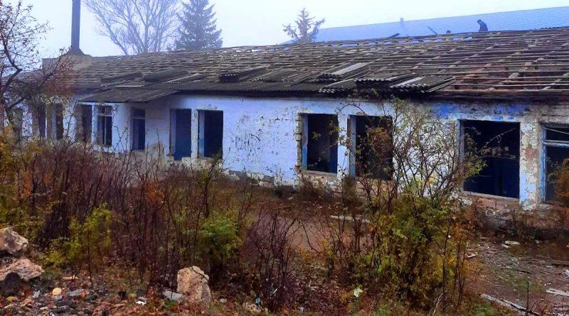 В Чадыр - Лунге ремонтируют части здания бывшей школы №3. Что там будет?