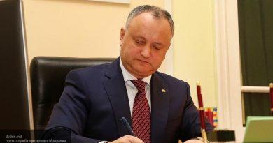 Игорь Додон промульгировал закон о переходе СИБа под парламентский контроль, приостановленный Конституционным судом