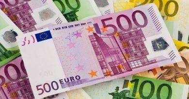 В Молдове стоимость евро, дважды за три года, превысила порог в 21 лей