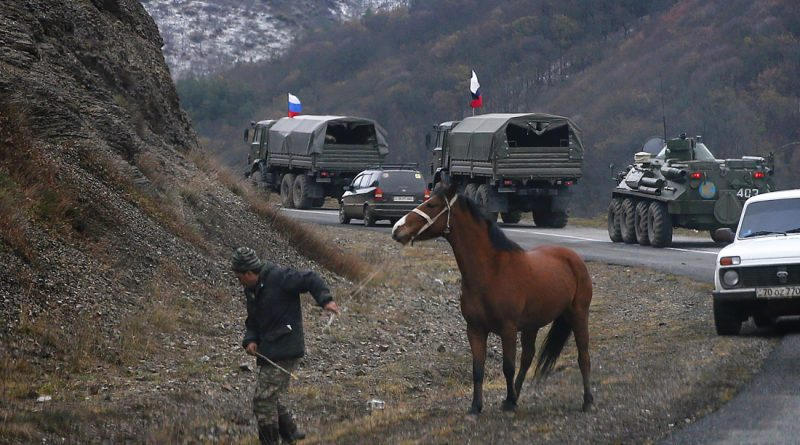 В Нагорном Карабахе 11 декабря снова началась стрельба. В ситуацию вмешались российские миротворцы