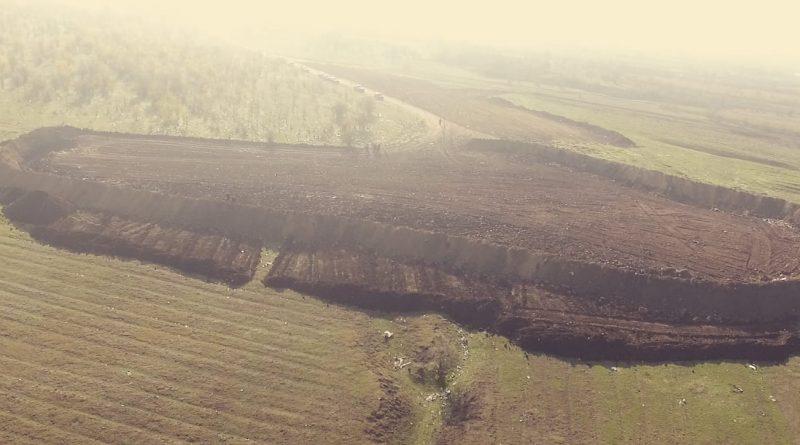В селе Гайдар завершился проект по реанимированию мусорного полигона (видео)