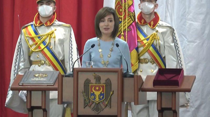 «Выражаем нашу полную поддержку». Главы семи государств поздравили Майю Санду с вступлением в должность