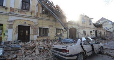 В Хорватии произошло землетрясение. Есть погибшие, под завалами ищут выживших