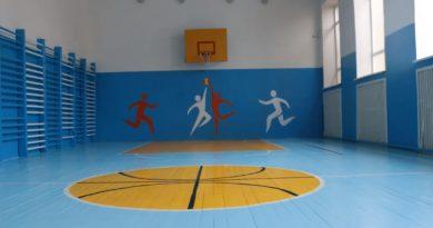 В гимназии села Бешгиоз отремонтировали спортивный зал