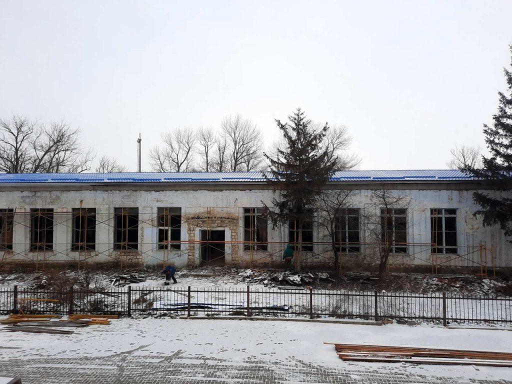 В Чадыр — Лунге обновили кровлю здания бывшей школы №3. Там разместят резидентов бизнес инкубатора