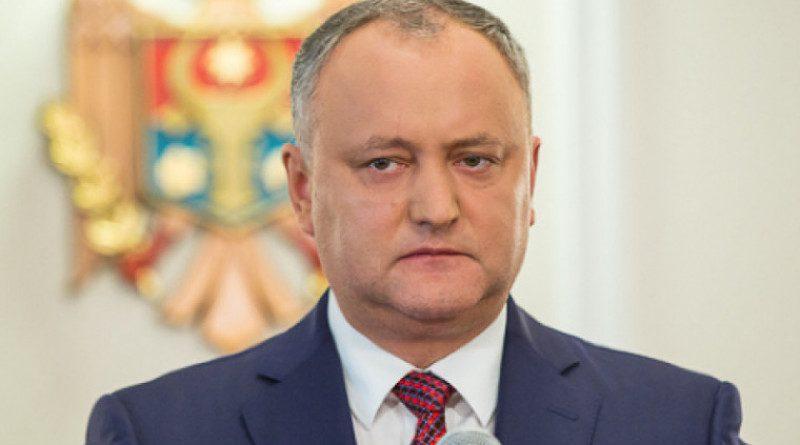 Додон о кандидате Гаврилице в премьеры: «Ждем программу и состав правительства»