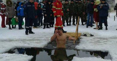 Вопреки пандемии. В Молдове сегодня пройдут крещенские купания