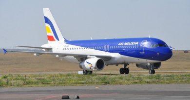 Air Moldova опубликовала расписание полетов до конца января