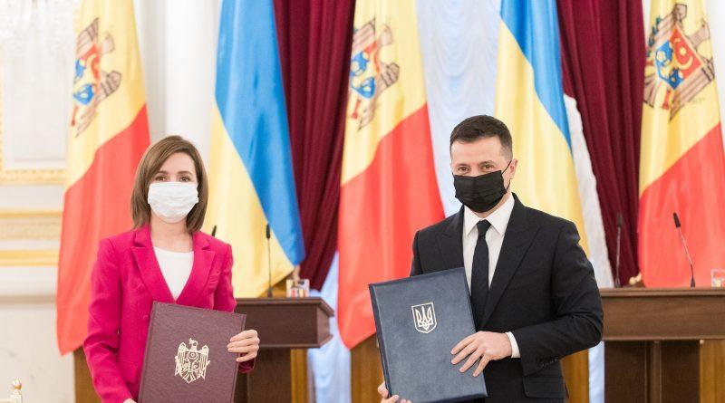 Визит Майи Санду в Киев: о чем договорились президенты Молдовы и Украины