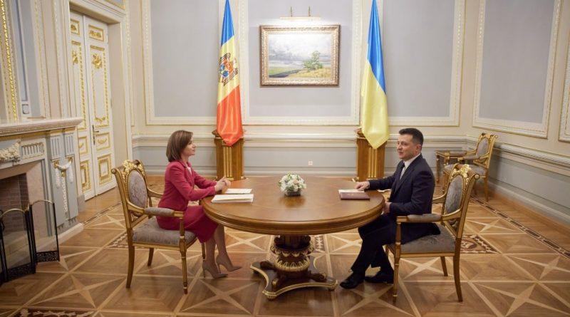 Майя Санду попросила президента Украины о поддержке в расследовании мошенничества с собственностью Молдовы