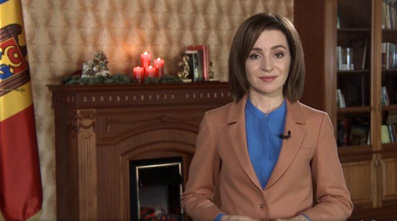 Президент Майя Санду поздравила граждан с Рождеством