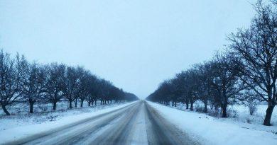 В Гагаузии снова выпал снег. Какова ситуация на дорогах?