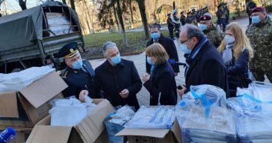 Тонна лекарств и оборудования для борьбы с COVID-19 передана военному госпиталю в Кишиневе от минобороны Румынии