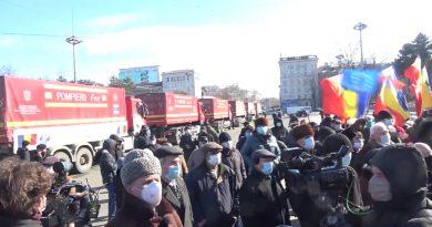 В Кишинев из Румынии прибыл гуманитарный конвой на сумму 48 млн леев