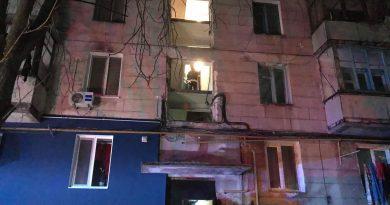 В результате взрыва в жилом доме Кишинева пострадала женщина и двое ее детей