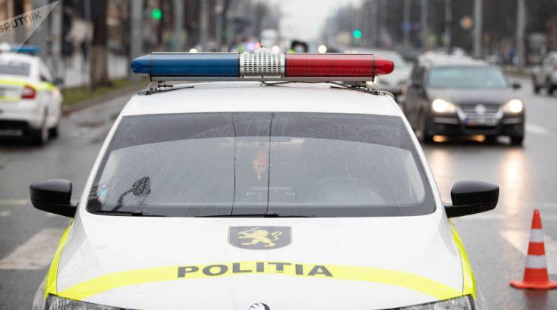 Глава генинспектората полиции попал в ДТП этим утром