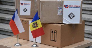 Чехия предоставит Молдове 55 аппаратов ИВЛ и защитные средства на сумму 1,3 млн евро