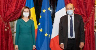 Франция отправит в Молдову миссию для определения направлений помощи